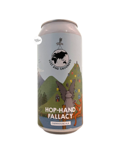Bière Hop-Hand Fallacy Farmhouse Ale 44 cl Brasserie Lost And Grounded