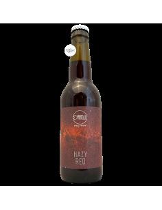 Bière HAZY RED Imperial Fruit Beer 33 cl Brasserie Orbital