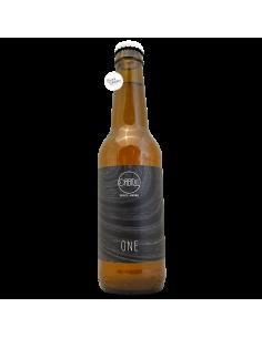 Bière One Hazy Pale Ale 33 cl Brasserie Orbital