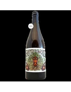 Bière Send the Wood 11 Saison Betterave Mûre BA 75 cl Brasserie La P'tite Maiz'