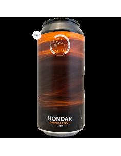 Bière Hondar Oatmeal Stout 44 cl Brasserie La Superbe
