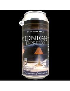 Bière Midnight Expresso Dry Coffee Stout 44 cl Brasserie Piggy Brewing