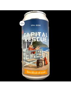 Bière Capital Rescue NE IPA GDH 44 cl Brasserie Piggy Brewing