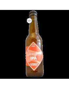 Bière American IPA 33 cl Azimut Brasserie