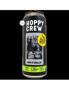 Bière Hoppy Crew How It Rolls? DDH APA 50 cl Brasserie Browar PINTA