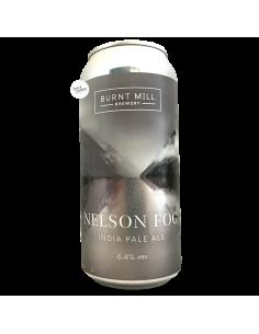 Bière Nelson Fog IPA 44 cl Brasserie Burnt Mill Brewery