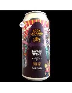 Bière Savage Scene Inner City Pale Ale 44 cl Brasserie Rock Leopard