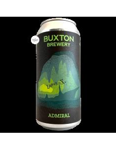 Bière Admiral IPA LupulusX 44 cl Brasserie Buxton Brewery