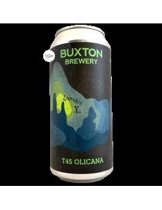 Bière T45 Olicana IPA LupulusX 44 cl Brasserie Buxton Brewery