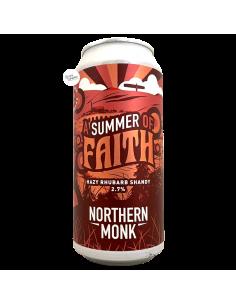 Bière Summer of Faith Hazy Rhubarb Shandy 44 cl Brasserie Northern Monk Brew Co