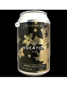 Bière Imperial Vanilla Stout Bourbon BA 33 cl Brasserie Vocation Brewery