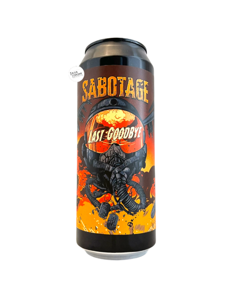 Bière Last Goodbye DIPA 50 cl Brasserie Sabotage