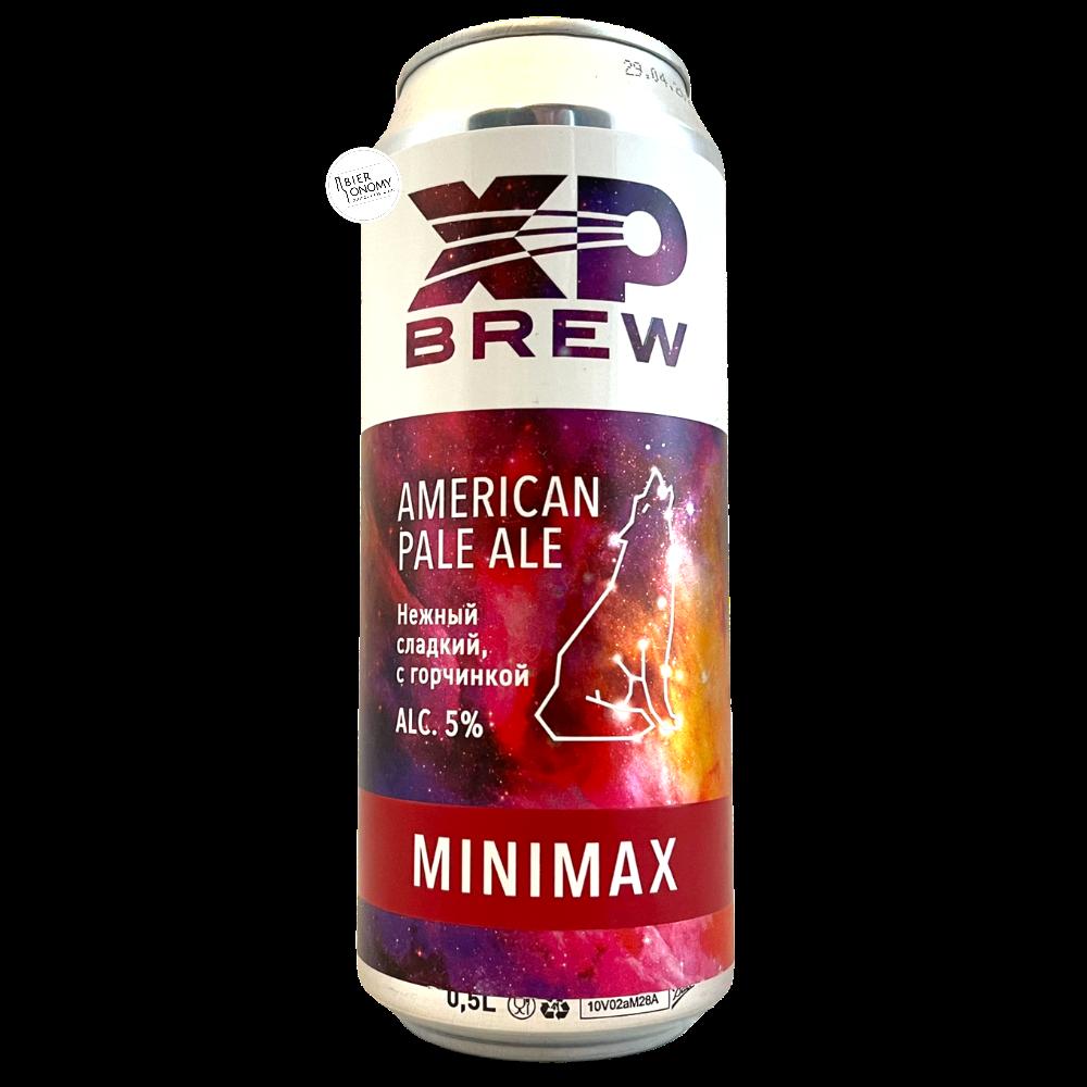 Bière Minimax American Pale Ale 50 cl Brasserie XP Brew