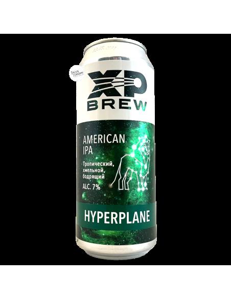 Bière Hyperplane American IPA 50 cl Brasserie XP Brew