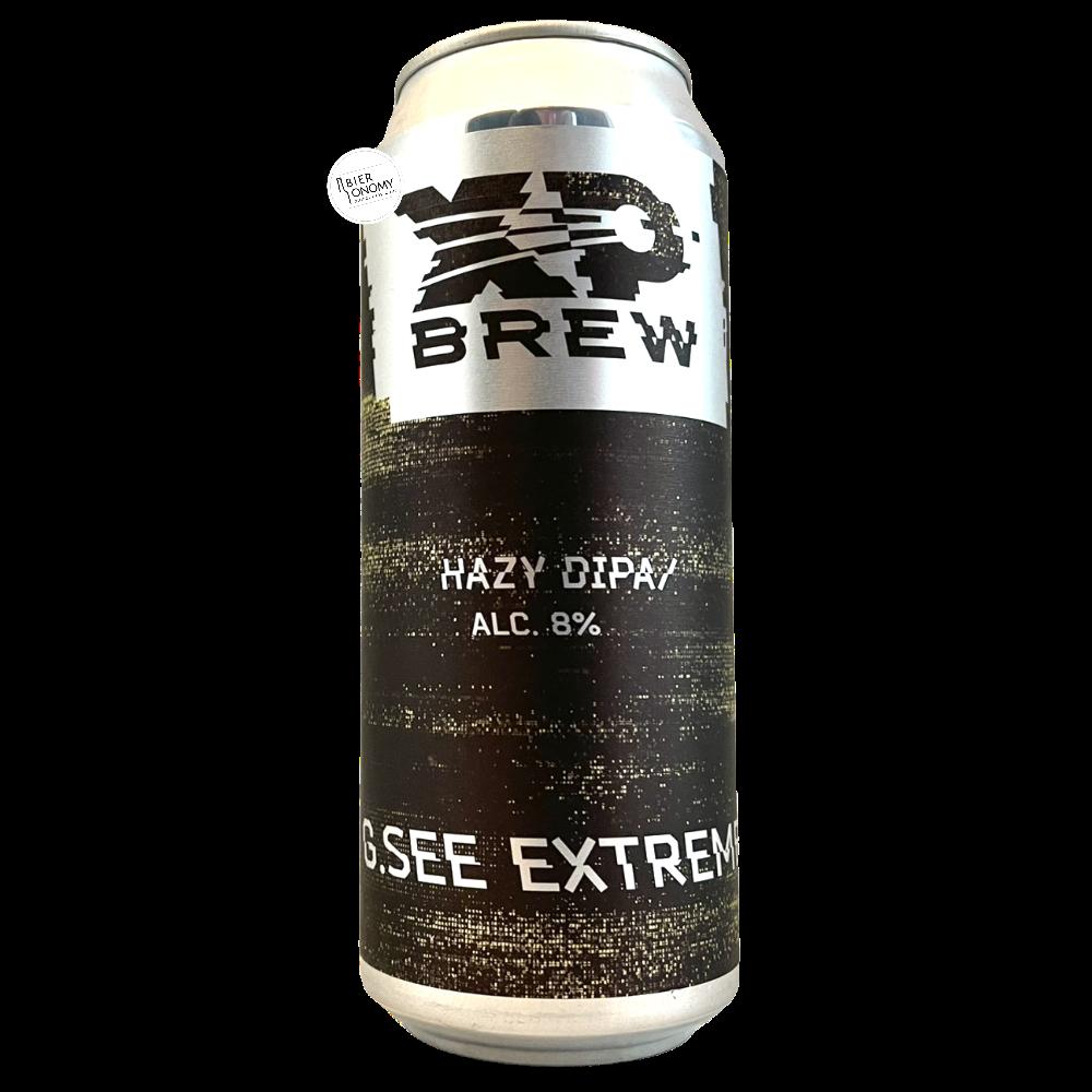 Bière G. See Extreme Hazy DIPA 50 cl Brasserie XP Brew
