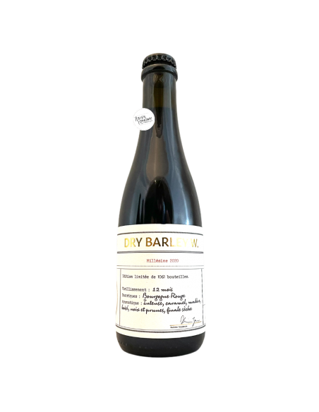 Bière Dry Barley W. Barrel Aged 37,5 cl Brasserie Les Intenables