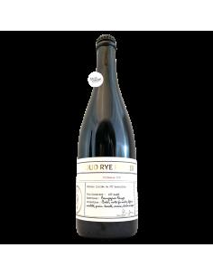 Bière Oud Rye Porter Barriquée 75 cl Brasserie Les Intenables