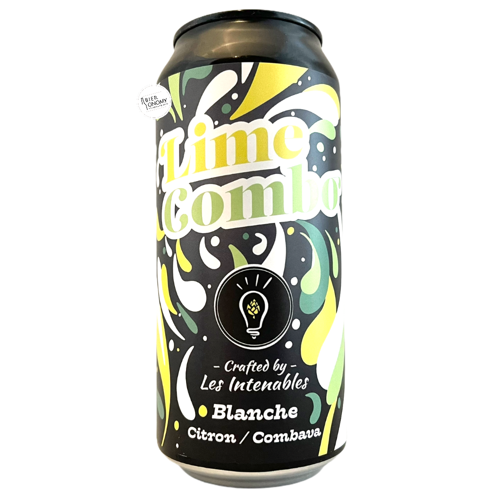 Bière Lime Combo Wheat Beer 44 cl Brasserie Les Intenables