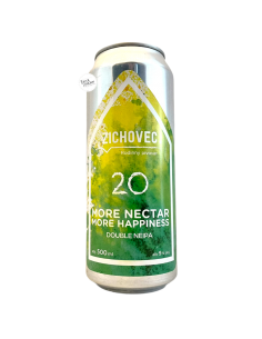 Bière More Nectar More Happiness Double NEIPA 50 cl Brasserie Zichovec