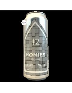 Bière Homies DDH Lager 50 cl Brasserie Zichovec Falkon