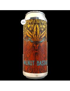 Bière Walnut Bastard Double Stout 50 cl Brasserie Selfmade