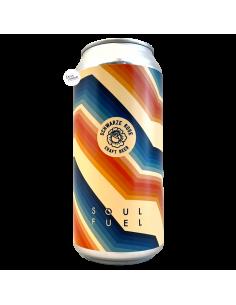 Bière Soul Fuel Double Oatcream Kveik IPA 44 cl Brasserie Schwarze Rose