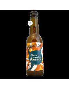 Bière Good Morning America NEIPA 33 cl Brasserie Maelström