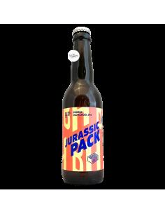 Bière Jurassic Pack Double Old School IPA 33 cl Brasserie Brique House