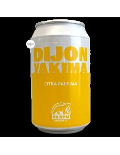 Bière Dijon Yakima Citra Pale Ale 33 cl Brasserie 90 BPM