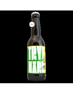 Bière Trye Hard Double Rye IPA 33 cl Brasserie Brique House x Hoppy Road