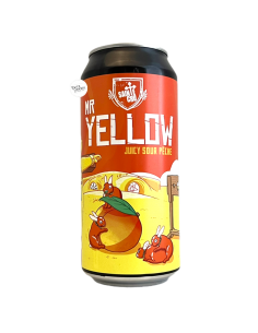 Bière Mr Yellow Juicy Sour Pêche 44 cl Brasserie Sainte Cru