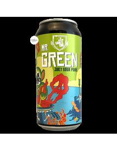 Bière Mr Green Juicy Sour Poire 44 cl Brasserie Sainte Cru