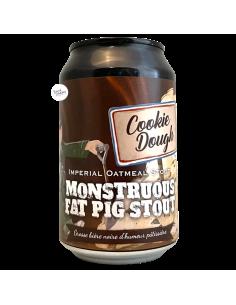 Bière Monstruous Fat Pig Stout Cookie Dough 33 cl Brasserie Piggy Brewing
