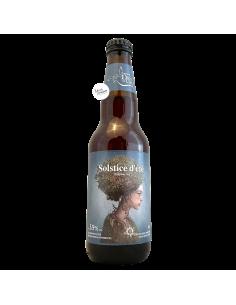 Bière Solstice d'Été Framboises Berliner Weisse 34,1 cl Brasserie Dieu du Ciel