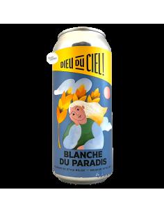Bière Blanche du Paradis 47,3 cl Brasserie Dieu du Ciel