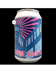 Bière Lune Rose Grapefruit Wheat Ale 33cl Brasserie L'Ermitage