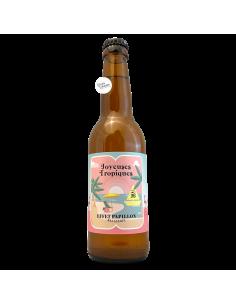 Bière Joyeuses Tropiques Berliner Weisse  33 cl Brasserie Effet Papillon Beer & Trip