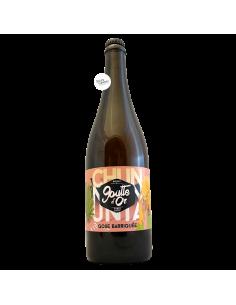 Bière Chunta Gose Barriquée 75 cl Brasserie La Goutte d'Or