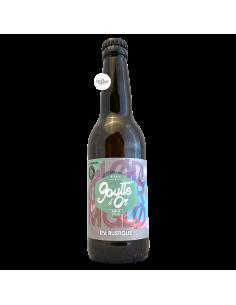 Bière GLOD ORM IPA Rustique 33 cl Brasserie La Goutte d'Or Dry & Bitter