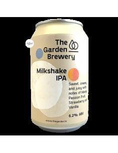 Bière Milkshake IPA 33 cl Brasserie The Garden