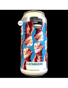 Bière Catamaran NE Pale Ale 44 cl Brasserie Pressure Drop