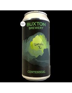 Bière Centennial IPA LupulusX 44 cl Brasserie Buxton