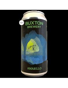 Bière Amarillo IPA LupulusX 44 cl Brasserie Buxton