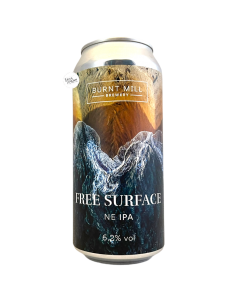 Bière Free Surface NE IPA 44 cl Brasserie Burnt Mill