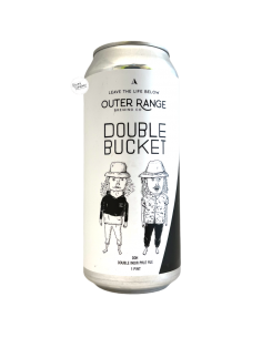 Bière Double Bucket DDH NE DIPA 47 cl Brasserie Outer Range Brewing