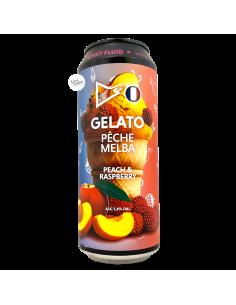 Bière Gelato Peche Melba Fruited Sour 50 cl Brasserie Funky Fluid