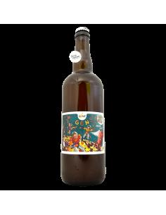 Bière Gens De La Lune Tropical Lager 75 cl Brasserie La Pleine Lune