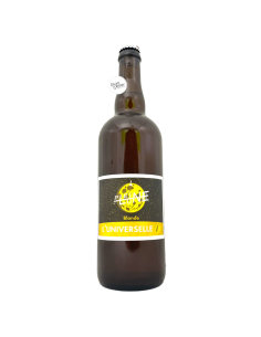 Bière L'Universelle Blonde 33 cl Brasserie La Pleine Lune