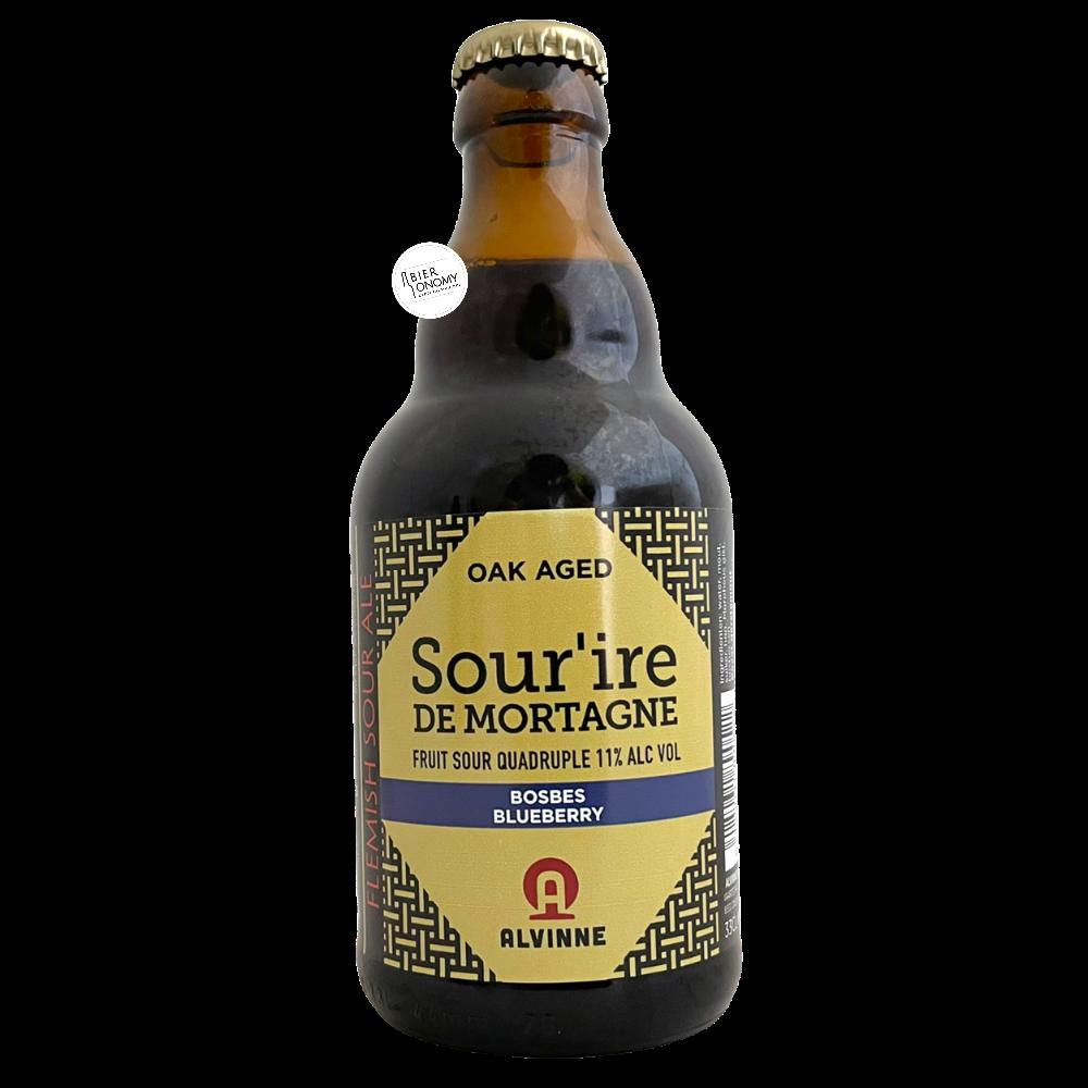 Bière Sour'ire de Mortagne Bosbes Sour Quadruple 33 cl Brasserie Alvinne