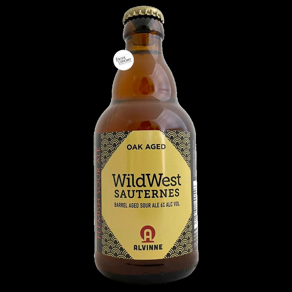 Bière Wild West Sauternes BA Sour 33 cl Brasserie Alvinne